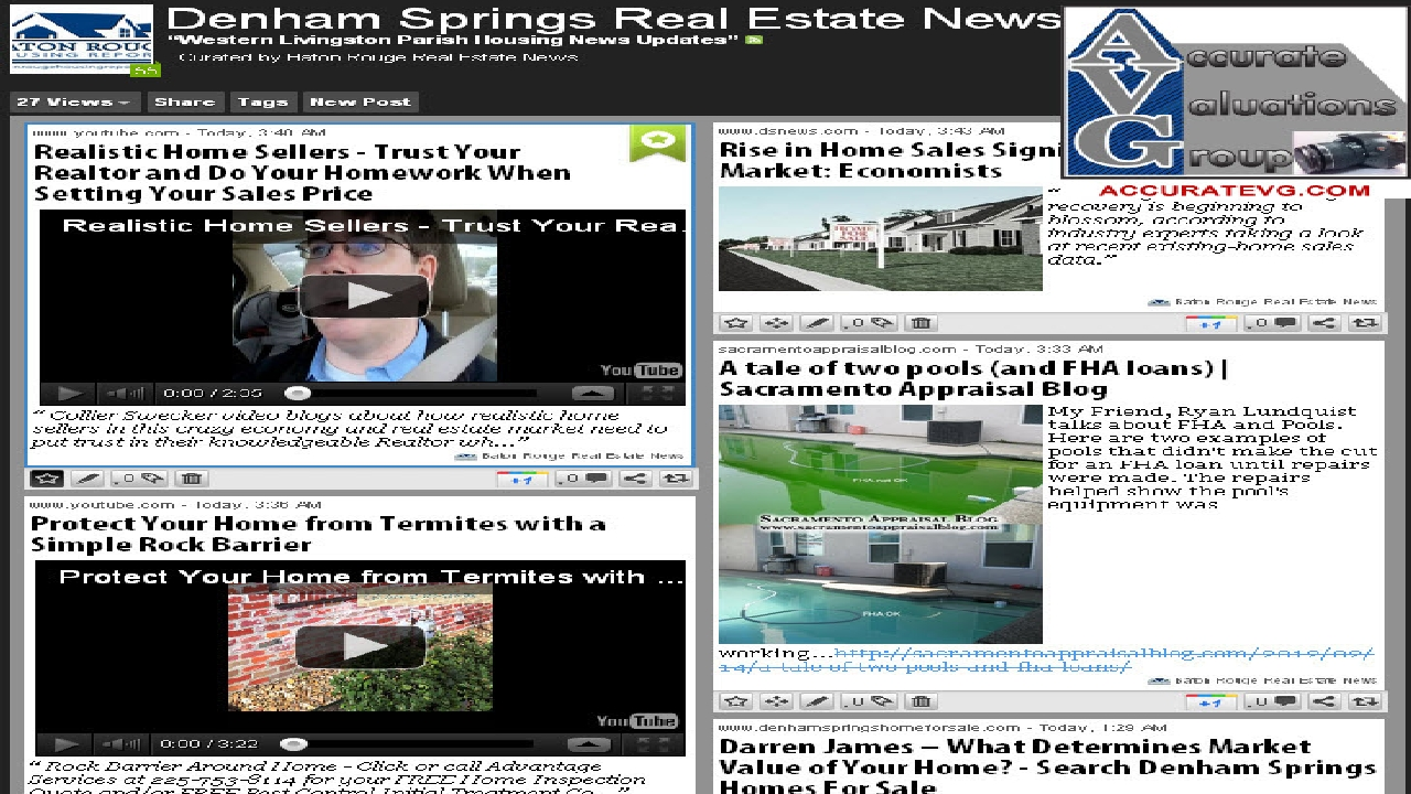 Denham Springs LA Walker LA Western Livingston Parish housing news