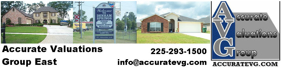 Denham Springs Livingston Parish Home Appraisers